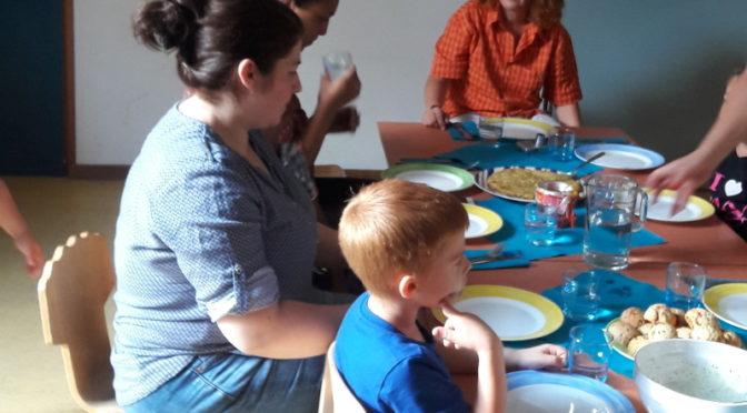 Kochen mit Kindern am 1. September