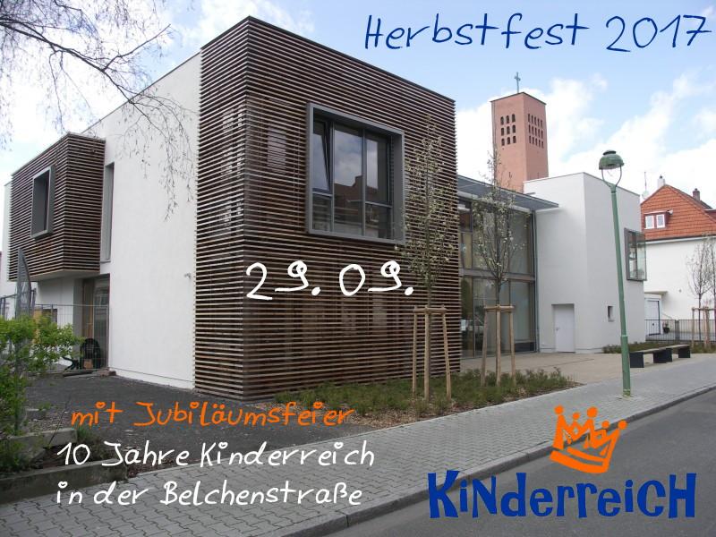 Herbstfest (10 Jahre Kinderreich in der Belchenstraße)